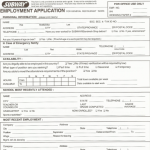 kfc job application print out form