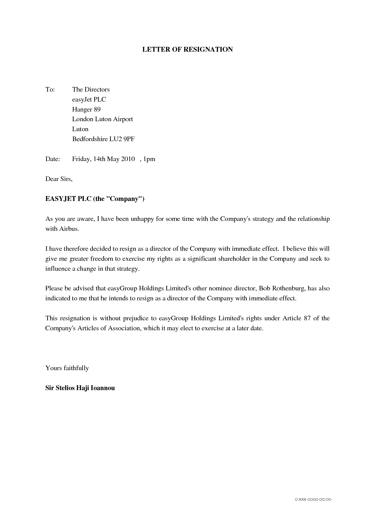 letter of resignation samples unhappy letter of resignation sample unhappy resignation letter 23081