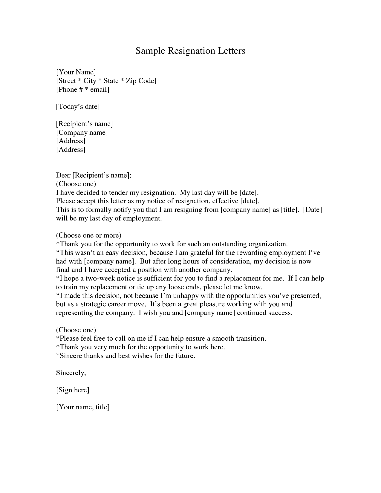 letter of resignation template microsoft Are You Looking For a Reference Letter Out Of Your Job Is The Right Choice For Example Of A Letter Of Resignation