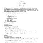 medical administrative assistant resume administrative assistant resume claire bloom