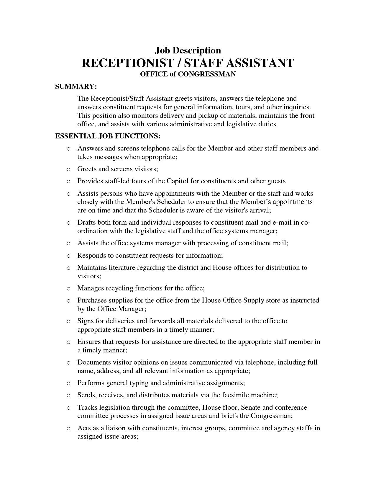 medical assistant job description in a hospital medical assistant