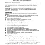 medical assistant job description template job description office nursemedical assistant