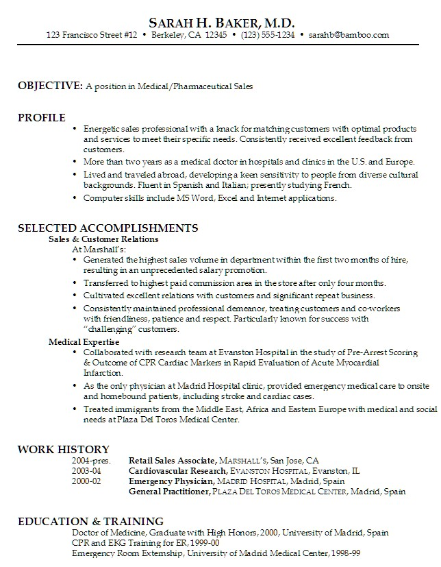10 Resume Examples 2014 - Samplebusinessresume.Com