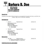 nurse resume tips Nursing Resume on Pinterest barbara B. Doe