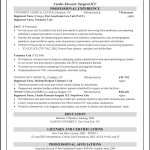 pacu nurse resume example CICU Registered Nurse Resume Joanne O' Scarlet