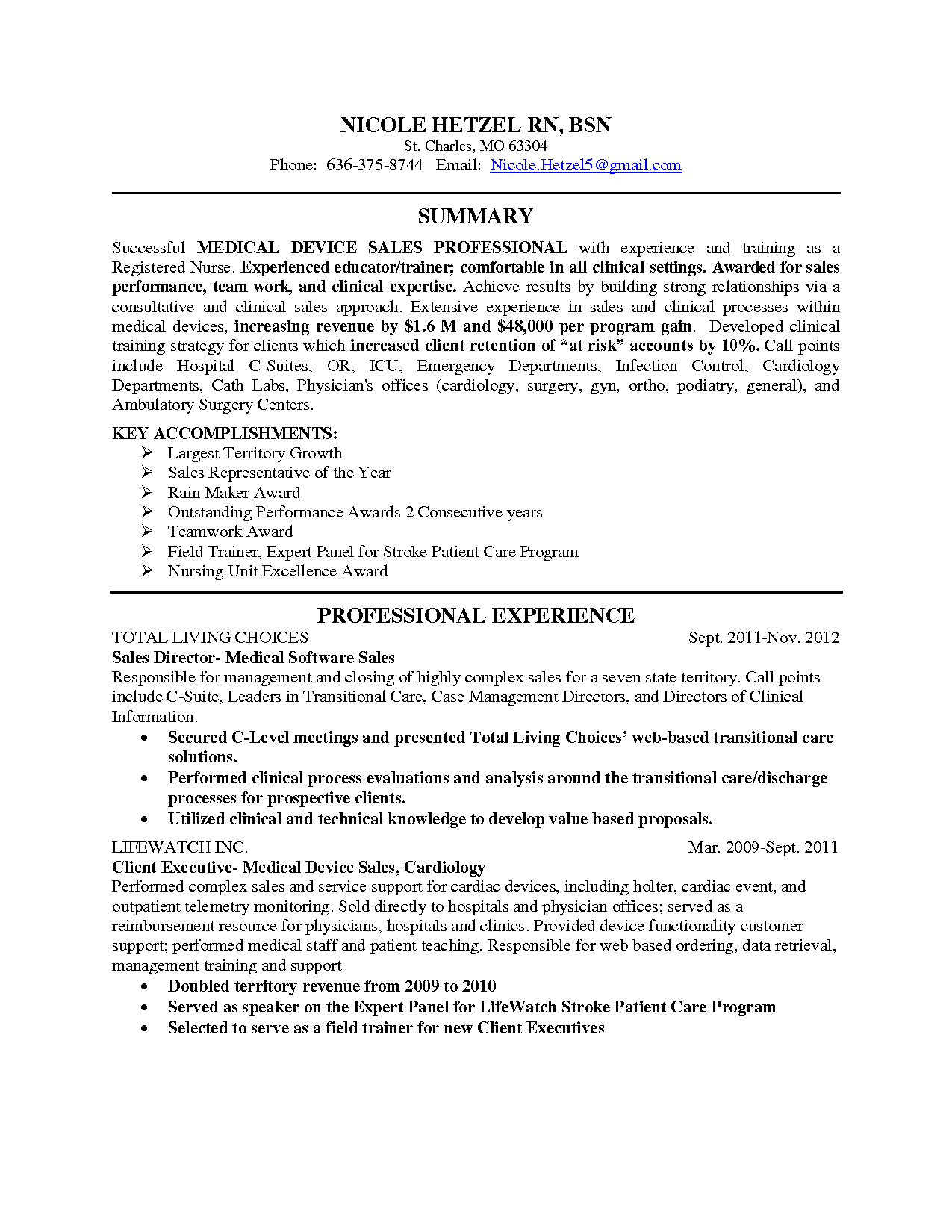 Resume Pacu Resume 7 pacu nurse resume cover letter example for employment registered nicole hetzel