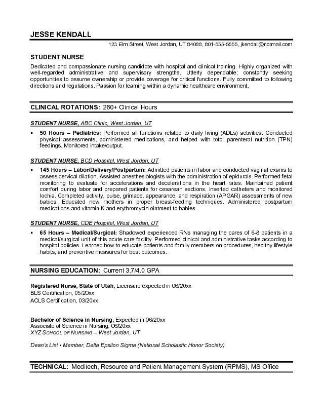 Resume Examples First Job Objective