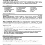 Contruction Project Manager Resume