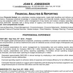 reasons why this is an excellent resume best resume format by joan e jobseeker