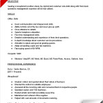 receptionist resume sample list of receptionist skills by kirsten smith