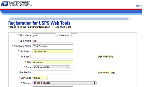 registration for usps web tools usps application process step hiring list