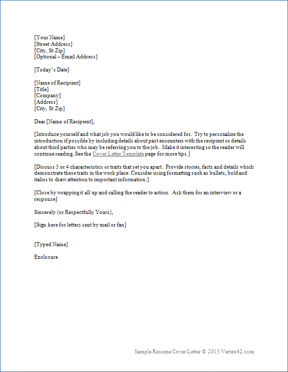 example of cover letter for nursing