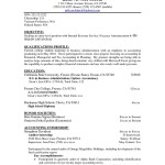 resume objectives for administrative position by julie a mcfederal
