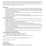 sales associate duties resume sales associate resume