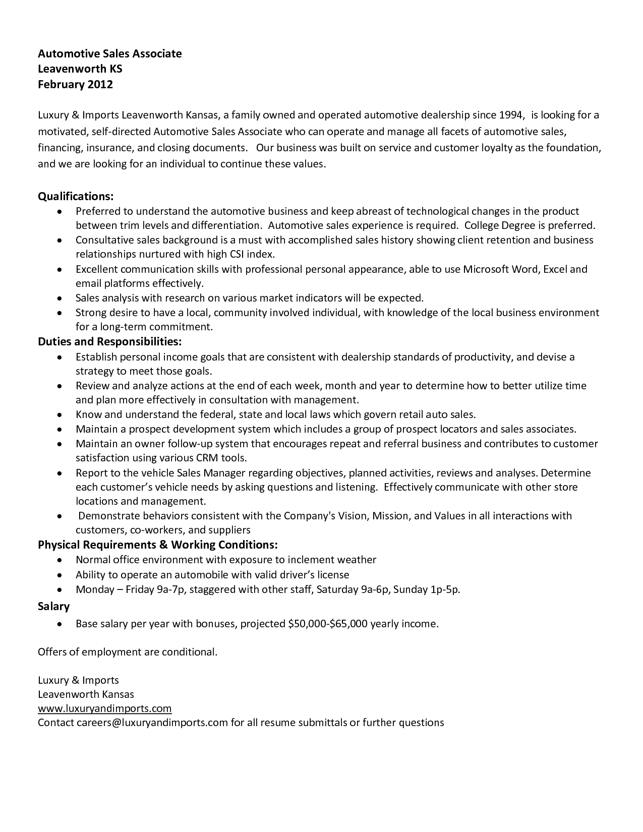 10 sales associate resume sle with no experience