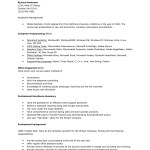 computer trainer examples proficiency resume job skills examples
