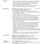 sample resume for receptionist receptionist description resume by therese govachi