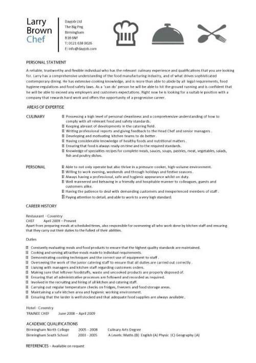 Sous Chef Job Description Template By Larry Brown Chef