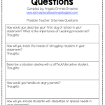 special education teacher interview questions teacher interview questions