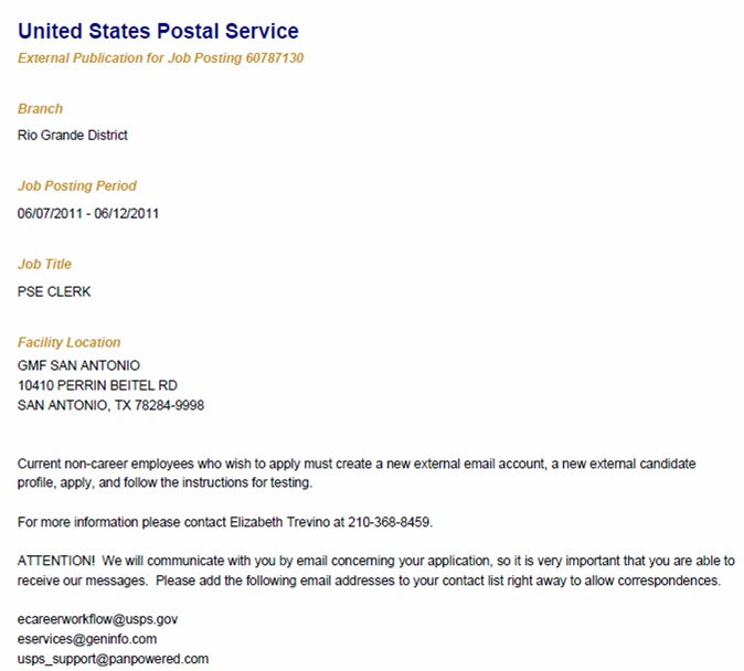 usps application process