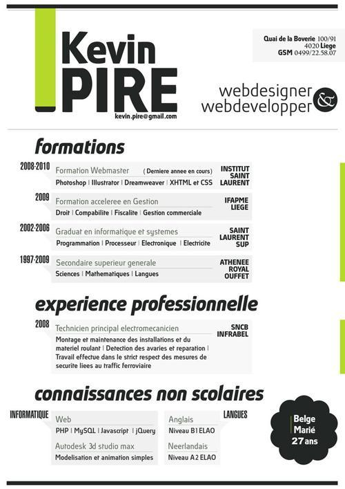 web designer resume skills resume design graphic design skills resume by kevin pire - Graphics Production Artist Resume
