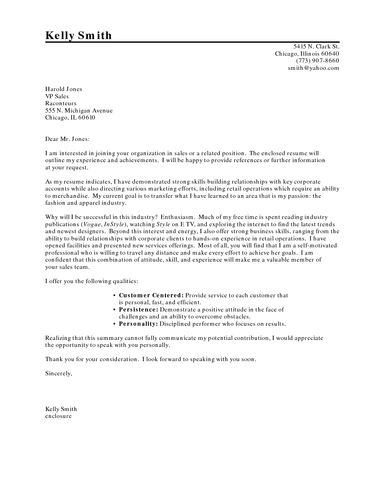 cover letter for new career sample cover letter for resume - How To Compose A Cover Letter
