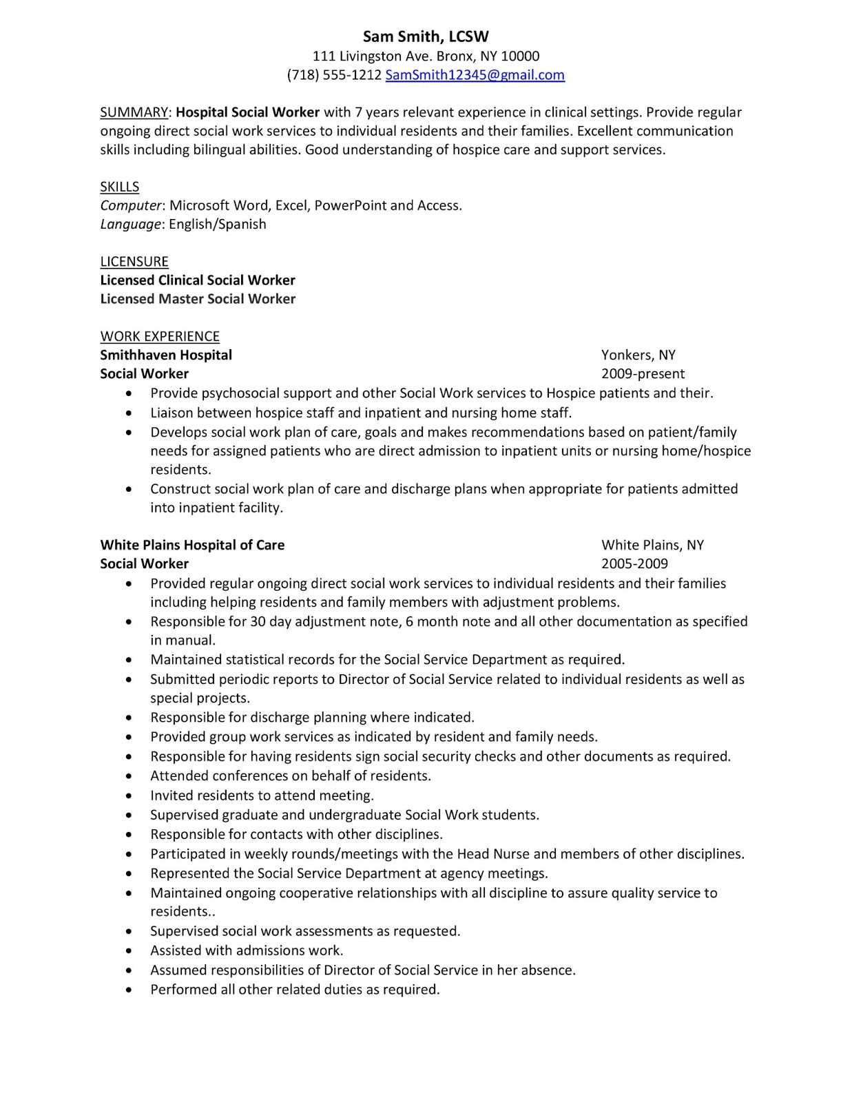 Resume Objective Clinic Nurse  Writing And Editing Services