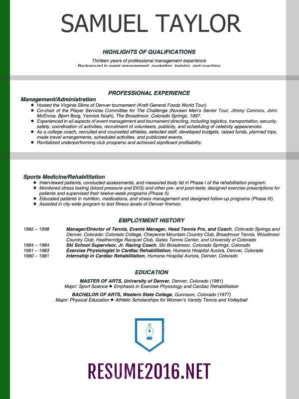 Free Download Professional Resume Format  Resume Format And