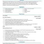 Nanny Resume Full Sample Templates experience and certification