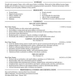 Nanny personal care and services Part Time Nanny Resume Sample