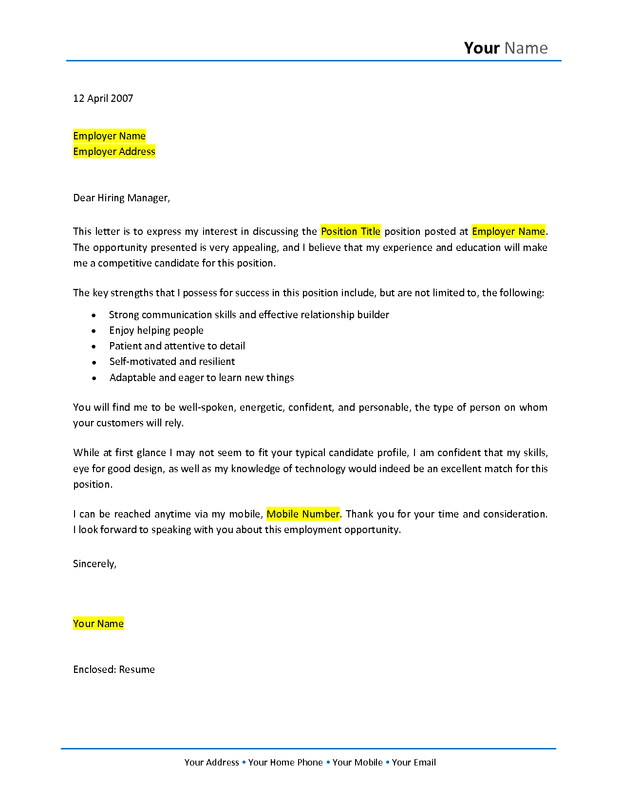 no experience cover letter samples career change cover