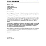 No Experience Cover Letter Samples career change cover letter