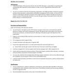 Office Executive Assistant Key Duties and responsibilities Resume