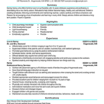 professional nanny resume images for modern nanny resume example - Nanny Resume Examples