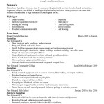 free cleaning professionals maintenance janitorial classic Sample Resume for Cleaning Person