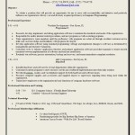 Social Work Resume Objective Statements Or Human Services Objective