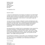 Administrative Assistant Cover Letter Examples Cover Letter for Executive Assistant