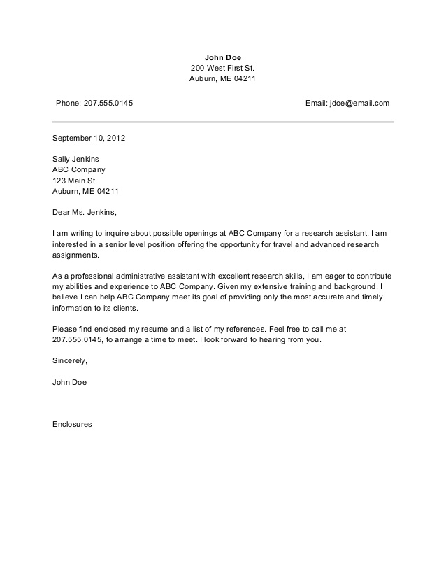 administrative assistant cover letter the best cover letter for administrative assistant 1071