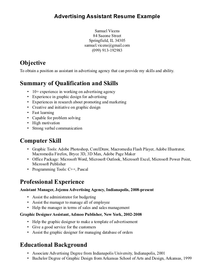 Example Of Dental Assistant Resume Objective For Dental Assistant