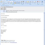 Email for Job Position Example Gallery Highlights Applicants Up Sell And Following Examples To Make
