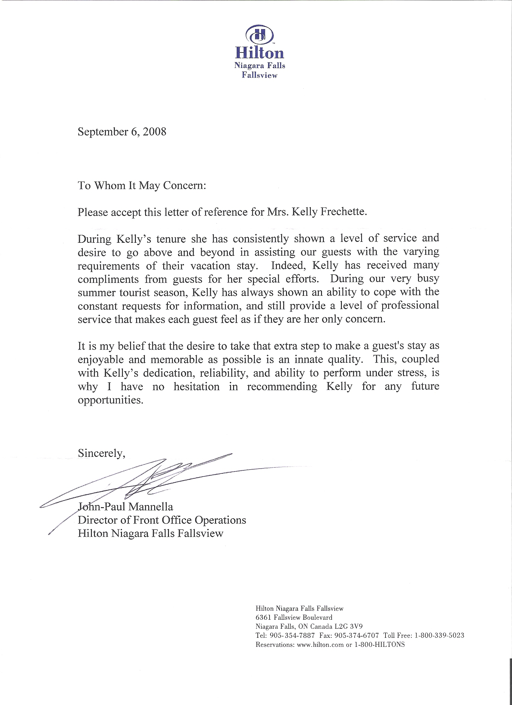 Sample Recommendation Letter From Employer  EczaSolinfCo