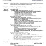 Examples Of A Good Resume Great 10 Download great resume objective and relevant experience