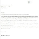 Fill in Blank Resignation Letter Awesome Example of Resign Letter Resumes Basic
