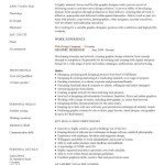 Graphic designer CV sample graphic designer cv example work experience