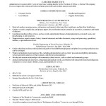 Objective Statement for Resume General Resume Template Gray Timeless