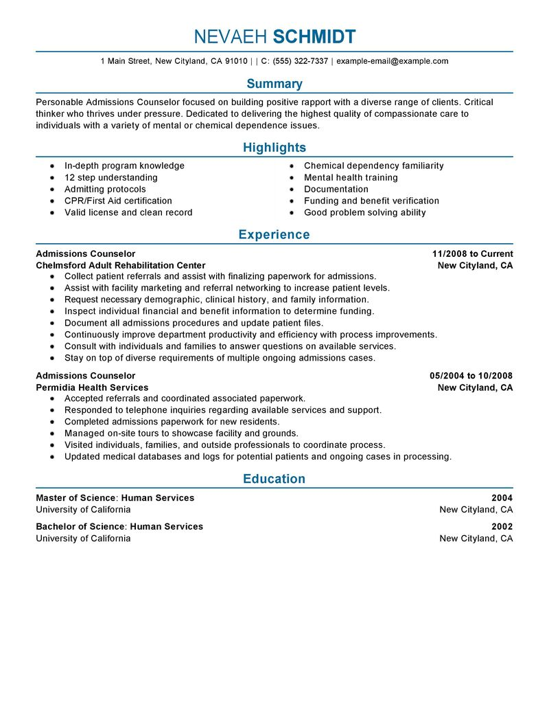 order picker job description resume admissions counselor social services - Financial Aid Counselor Resume