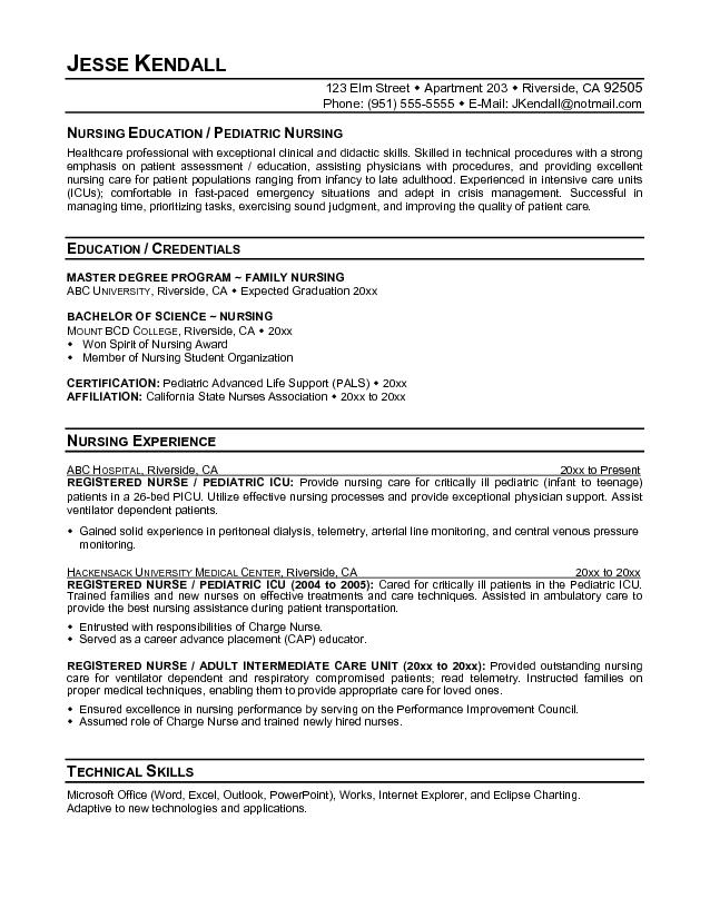 2016 pediatrician job resume