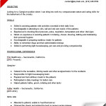 caregiver accomplishments for resume caregiver duties resume caregiver resume sample