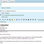 email cover letter example sample email cover letter with resume - Email Cover Letter Example