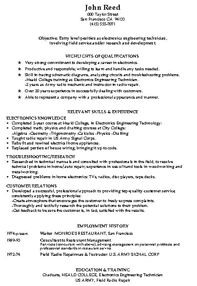 entry level warehouse resume warehouse resume samples objective - Arehouse Resume Sample